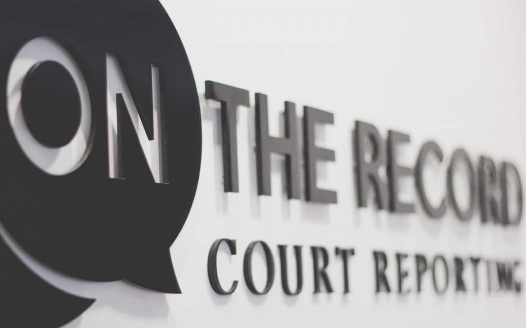 On The Record Court Reporting Barrie Celebrates a Year in Operation
